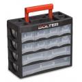 Органайзер пластмасов с чекмеджета 4 реда 19 отделения BOLTER