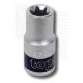 """Вложка E - TORX къса 1/2"""" E10 TopMaster"""